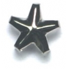 Garment Studs Star Nickel 9mm